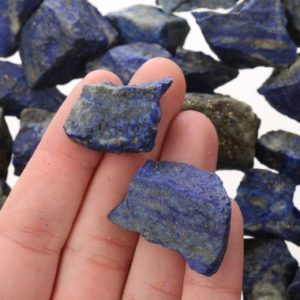 Shop Raw & Rough Lapis Lazuli Stones! Raw Lapis Pieces, Rough Lapis, Genuine Lapis Crystal, Healing Crystal, Bulk Raw Gemstone, LLapis002 | Natural genuine stones & crystals in various shapes & sizes. Buy raw cut, tumbled, or polished gemstones for making jewelry or crystal healing energy vibration raising reiki stones. #crystals #gemstones #crystalhealing #crystalsandgemstones #energyhealing #affiliate #ad