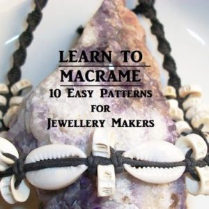 Learn To Macrame, 10 Easy Patterns, Kids Craft Diy Tutorial Shell Choker Instructions, Hemp Necklace & Bracelet Pattern Pdf Digital Download | Shop jewelry making and beading supplies, tools & findings for DIY jewelry making and crafts. #jewelrymaking #diyjewelry #jewelrycrafts #jewelrysupplies #beading #affiliate #ad