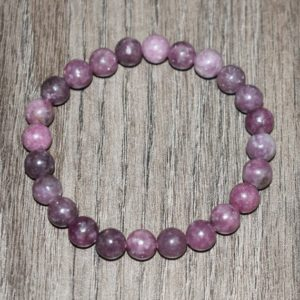 Lepidolite Bracelet for Women, Bracelets for Women, 7 chakra bracelet, Gift for Her, Anxiety Bracelet, Healing Bracelet | Natural genuine Lepidolite bracelets. Buy crystal jewelry, handmade handcrafted artisan jewelry for women.  Unique handmade gift ideas. #jewelry #beadedbracelets #beadedjewelry #gift #shopping #handmadejewelry #fashion #style #product #bracelets #affiliate #ad