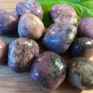 Tumbled Lepidolite Stones Set With Gift Bag And Note | Natural genuine stones & crystals in various shapes & sizes. Buy raw cut, tumbled, or polished gemstones for making jewelry or crystal healing energy vibration raising reiki stones. #crystals #gemstones #crystalhealing #crystalsandgemstones #energyhealing #affiliate #ad