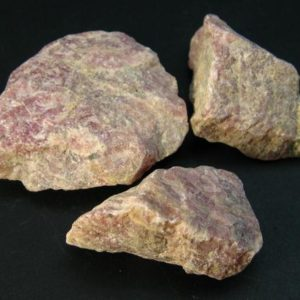 Shop Raw & Rough Rhodochrosite Stones! Lot of Three Raw Natural Rhodochrosite Crystal from Argentina | Natural genuine stones & crystals in various shapes & sizes. Buy raw cut, tumbled, or polished gemstones for making jewelry or crystal healing energy vibration raising reiki stones. #crystals #gemstones #crystalhealing #crystalsandgemstones #energyhealing #affiliate #ad