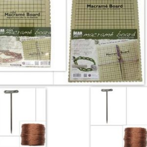 Macrame Boards & Kits – New Design – large or small | Shop jewelry making and beading supplies, tools & findings for DIY jewelry making and crafts. #jewelrymaking #diyjewelry #jewelrycrafts #jewelrysupplies #beading #affiliate #ad