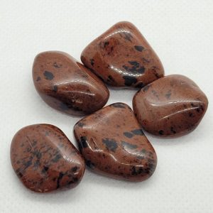 Shop Tumbled Mahogany Obsidian Crystals & Pocket Stones! Mahogany Obsidian Tumbled Stone   Natural genuine stones & crystals in various shapes & sizes. Buy raw cut, tumbled, or polished gemstones for making jewelry or crystal healing energy vibration raising reiki stones. #crystals #gemstones #crystalhealing #crystalsandgemstones #energyhealing #affiliate #ad