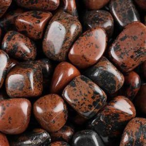 Shop Tumbled Mahogany Obsidian Crystals & Pocket Stones! Mahogany Obsidian Tumbled Stone for Vitality, Fulfillment, Growth, Strength, Life Fulfillment, Tension Relief, Meditation, Crystal Healing   Natural genuine stones & crystals in various shapes & sizes. Buy raw cut, tumbled, or polished gemstones for making jewelry or crystal healing energy vibration raising reiki stones. #crystals #gemstones #crystalhealing #crystalsandgemstones #energyhealing #affiliate #ad