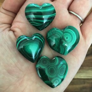 Malachite Heart – malachite stone – healing crystals and stones – heart chakra stones – heart chakra crystals – malachite – protection stone | Natural genuine stones & crystals in various shapes & sizes. Buy raw cut, tumbled, or polished gemstones for making jewelry or crystal healing energy vibration raising reiki stones. #crystals #gemstones #crystalhealing #crystalsandgemstones #energyhealing #affiliate #ad