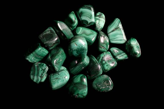 Malachite Medium Tumbled