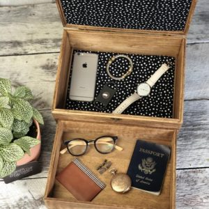 Shop Men's Jewelry Boxes! Mens Jewelry Box – Tie and Cufflink Storage – Grooms Gift – Valet tray to lower level – Large Jewelry Box/ Mothers Day Gift | Shop jewelry making and beading supplies, tools & findings for DIY jewelry making and crafts. #jewelrymaking #diyjewelry #jewelrycrafts #jewelrysupplies #beading #affiliate #ad
