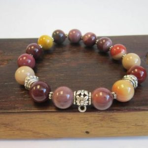 Shop Mookaite Bracelets! Mookaite Jasper Bracelet, Mookaite Jasper Chakra Bracelet, Mookaite Charm Love & Balance Bracelet, Chakra Bracelet, General Health Brace | Natural genuine Mookaite bracelets. Buy crystal jewelry, handmade handcrafted artisan jewelry for women.  Unique handmade gift ideas. #jewelry #beadedbracelets #beadedjewelry #gift #shopping #handmadejewelry #fashion #style #product #bracelets #affiliate #ad