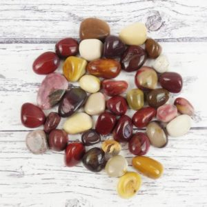 Mookaite Tumbled Stones, Reiki Infused Australian Jasper Wire Wrapping Self Care Healing Stones | Natural genuine stones & crystals in various shapes & sizes. Buy raw cut, tumbled, or polished gemstones for making jewelry or crystal healing energy vibration raising reiki stones. #crystals #gemstones #crystalhealing #crystalsandgemstones #energyhealing #affiliate #ad