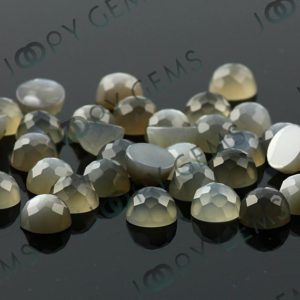 Shop Moonstone Cabochons! Grey Moonstone Rose Cut Cabochon 8mm Round – Per Stone | Natural genuine stones & crystals in various shapes & sizes. Buy raw cut, tumbled, or polished gemstones for making jewelry or crystal healing energy vibration raising reiki stones. #crystals #gemstones #crystalhealing #crystalsandgemstones #energyhealing #affiliate #ad