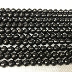 Shop Jet Beads! Natural Black Jet 4mm – 12mm Round Genuine Gemstone Loose Beads 15 inch Jewelry Supply Bracelet Necklace Material Support Wholesale   Natural genuine round Jet beads for beading and jewelry making.  #jewelry #beads #beadedjewelry #diyjewelry #jewelrymaking #beadstore #beading #affiliate #ad