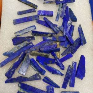 Shop Raw & Rough Lapis Lazuli Stones! Natural Lapis lazuli raw,specimen lapis lazuli rough stick,healing powers raw 20-30mm stick,fine colour slice stick semiprecious gemstoneAAA | Natural genuine stones & crystals in various shapes & sizes. Buy raw cut, tumbled, or polished gemstones for making jewelry or crystal healing energy vibration raising reiki stones. #crystals #gemstones #crystalhealing #crystalsandgemstones #energyhealing #affiliate #ad