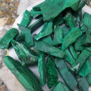 Shop Raw & Rough Malachite Stones! Natural malachite raw slice, rough slice,malachite raw, positive energy,healing crystal loose gemstone  fine colour for jewelry wire wrapAAA | Natural genuine stones & crystals in various shapes & sizes. Buy raw cut, tumbled, or polished gemstones for making jewelry or crystal healing energy vibration raising reiki stones. #crystals #gemstones #crystalhealing #crystalsandgemstones #energyhealing #affiliate #ad