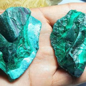 Shop Raw & Rough Malachite Stones! Natural Malachite Rough Gemstone,Malachite Slice,Malachite Specimen,Malachite Raw material,Malachite Gemstone,rough Malachite,slab Malachite | Natural genuine stones & crystals in various shapes & sizes. Buy raw cut, tumbled, or polished gemstones for making jewelry or crystal healing energy vibration raising reiki stones. #crystals #gemstones #crystalhealing #crystalsandgemstones #energyhealing #affiliate #ad
