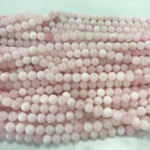 Shop Pink Calcite Beads! Natural Pink Calcite 6mm – 10mm Round Genuine Gemstone Beads 15 inch Jewelry Supply Bracelet Necklace Material Support Wholesale | Natural genuine round Pink Calcite beads for beading and jewelry making.  #jewelry #beads #beadedjewelry #diyjewelry #jewelrymaking #beadstore #beading #affiliate #ad
