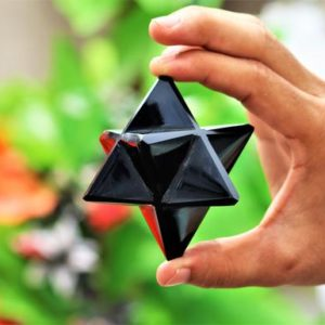 65MM Natural Black Obsidian Stone Healing Metaphysical Power Merkaba Star   Natural genuine stones & crystals in various shapes & sizes. Buy raw cut, tumbled, or polished gemstones for making jewelry or crystal healing energy vibration raising reiki stones. #crystals #gemstones #crystalhealing #crystalsandgemstones #energyhealing #affiliate #ad