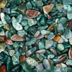 Ocean Jasper Tumbled Crystal Chips, Choose Amount | Natural genuine stones & crystals in various shapes & sizes. Buy raw cut, tumbled, or polished gemstones for making jewelry or crystal healing energy vibration raising reiki stones. #crystals #gemstones #crystalhealing #crystalsandgemstones #energyhealing #affiliate #ad