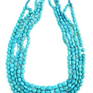 One Strand 100% Natural Sleeping Beauty Turquoise Beads 18 inch | Natural genuine beads Array beads for beading and jewelry making.  #jewelry #beads #beadedjewelry #diyjewelry #jewelrymaking #beadstore #beading #affiliate #ad
