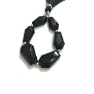 Shop Onyx Bead Shapes! Natural Black Onyx Coffin Beads Lot, Wholesale Black Onyx Gemstone, Unusual Onyx Shape for Jewellery Making, Gemstone Supply Tool, Gift | Natural genuine other-shape Onyx beads for beading and jewelry making.  #jewelry #beads #beadedjewelry #diyjewelry #jewelrymaking #beadstore #beading #affiliate #ad