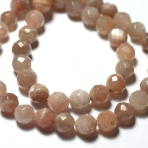 Shop Pearl Faceted Beads! 5pc – Pearls Stone Of Sun Faceted Balls 8mm – 7427039730846 | Natural genuine faceted Pearl beads for beading and jewelry making.  #jewelry #beads #beadedjewelry #diyjewelry #jewelrymaking #beadstore #beading #affiliate #ad