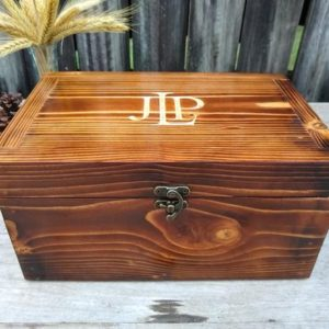 Shop Men's Jewelry Boxes! Personalized Wooden Box Valentines Day Gift, A Handmade Mens Jewelry Box Makes the Perfect Keepsake or Valet Box for Boyfriend, Husband, Dad | Shop jewelry making and beading supplies, tools & findings for DIY jewelry making and crafts. #jewelrymaking #diyjewelry #jewelrycrafts #jewelrysupplies #beading #affiliate #ad