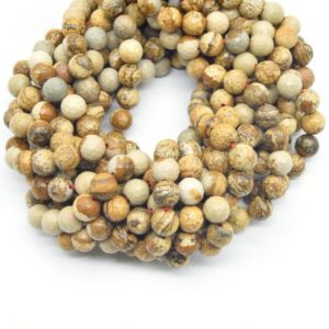 Shop Picture Jasper Faceted Beads! Picture Jasper Beads | Faceted Picture Jasper Round Beads | 6mm 8mm 10mm Available | Natural genuine faceted Picture Jasper beads for beading and jewelry making.  #jewelry #beads #beadedjewelry #diyjewelry #jewelrymaking #beadstore #beading #affiliate #ad