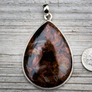 Shop Pietersite Pendants! Pietersite Pendant – Pietersite necklace – Stunning High Contrast Pietersite Pendant -Gorgeous Stone Pietersite Pendant Gemstone Peitersite | Natural genuine Pietersite pendants. Buy crystal jewelry, handmade handcrafted artisan jewelry for women.  Unique handmade gift ideas. #jewelry #beadedpendants #beadedjewelry #gift #shopping #handmadejewelry #fashion #style #product #pendants #affiliate #ad