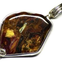 Yellow Pietersite Jewelry, Silky Pietersite Pendant, Namibian Pietersite In Sterling Silver, Natural Pietersite Jewelry | Natural genuine Gemstone jewelry. Buy crystal jewelry, handmade handcrafted artisan jewelry for women.  Unique handmade gift ideas. #jewelry #beadedjewelry #beadedjewelry #gift #shopping #handmadejewelry #fashion #style #product #jewelry #affiliate #ad