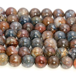 Shop Pietersite Beads! Genuine African Pietersite Gemstone Grade AA Blue Brown Red 6mm 8mm 10mm Round Loose Beads Full Strand (A239) | Natural genuine round Pietersite beads for beading and jewelry making.  #jewelry #beads #beadedjewelry #diyjewelry #jewelrymaking #beadstore #beading #affiliate #ad