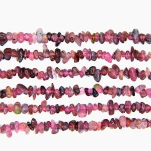 Shop Pink Tourmaline Chip & Nugget Beads! Pink Tourmaline Chips Natural Tiny Tourmaline Chip Beads Pink Semi Precious Stone Chips Full Strand Gemstone Nugget Jewelry Making Supplies | Natural genuine chip Pink Tourmaline beads for beading and jewelry making.  #jewelry #beads #beadedjewelry #diyjewelry #jewelrymaking #beadstore #beading #affiliate #ad