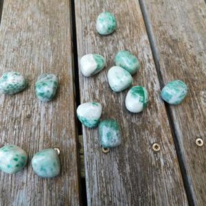 Shop Tumbled Jade Crystals & Pocket Stones! Polished Jade from China. Polished Jade Tumbles Chinese | Natural genuine stones & crystals in various shapes & sizes. Buy raw cut, tumbled, or polished gemstones for making jewelry or crystal healing energy vibration raising reiki stones. #crystals #gemstones #crystalhealing #crystalsandgemstones #energyhealing #affiliate #ad