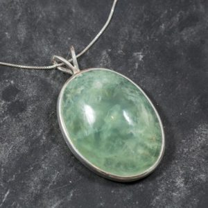 Shop Prehnite Pendants! Statement Pendant, Prehnite Pendant, Large Prehnite, Natural Prehnite, Vintage Pendant, Birthstone Pendant, Unique Pendants | Natural genuine Prehnite pendants. Buy crystal jewelry, handmade handcrafted artisan jewelry for women.  Unique handmade gift ideas. #jewelry #beadedpendants #beadedjewelry #gift #shopping #handmadejewelry #fashion #style #product #pendants #affiliate #ad