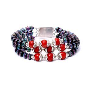 Shop Pyrite Bracelets! Fabulous- Pyrite, Red Coral Gemstone Beaded Bracelet, Multi Layer Bracelet, Gorgeous Birthday Gift, Party Bracelet, AAA+++ Gemstone Bracelet   Natural genuine Pyrite bracelets. Buy crystal jewelry, handmade handcrafted artisan jewelry for women.  Unique handmade gift ideas. #jewelry #beadedbracelets #beadedjewelry #gift #shopping #handmadejewelry #fashion #style #product #bracelets #affiliate #ad