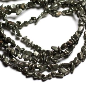 Shop Pyrite Chip & Nugget Beads! about – stone beads – 50pc rock Chips 4-6mm – 4558550081827 Pyrite | Natural genuine chip Pyrite beads for beading and jewelry making.  #jewelry #beads #beadedjewelry #diyjewelry #jewelrymaking #beadstore #beading #affiliate #ad