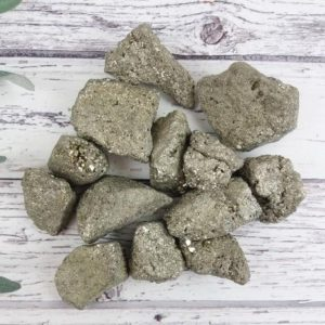 Shop Raw & Rough Pyrite Stones! Iron Pyrite Mineral Specimen, Reiki Infused Fool's Gold, Pyrite Crystal Self Care Healing Stones | Natural genuine stones & crystals in various shapes & sizes. Buy raw cut, tumbled, or polished gemstones for making jewelry or crystal healing energy vibration raising reiki stones. #crystals #gemstones #crystalhealing #crystalsandgemstones #energyhealing #affiliate #ad