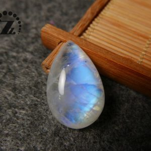 Shop Rainbow Moonstone Bead Shapes! Rainbow Moonstone teardrop cabochon beads, Pear shape, natural Gemstone Cabochon, High Quality, Grade AA, 11×18.5×28.5mm, 1 pc, Undrilled   Natural genuine other-shape Rainbow Moonstone beads for beading and jewelry making.  #jewelry #beads #beadedjewelry #diyjewelry #jewelrymaking #beadstore #beading #affiliate #ad