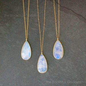 Shop Rainbow Moonstone Pendants! Gold Moonstone Necklace / Moonstone Pendant / Moonstone Jewelry / Moonstone / June Birthstone / Rainbow Moonstone / Gift for Her | Natural genuine Rainbow Moonstone pendants. Buy crystal jewelry, handmade handcrafted artisan jewelry for women.  Unique handmade gift ideas. #jewelry #beadedpendants #beadedjewelry #gift #shopping #handmadejewelry #fashion #style #product #pendants #affiliate #ad