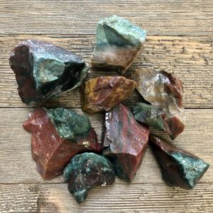 Shop Bloodstone Stones & Crystals! Raw Blood Fancy Jasper, Jasper, bloodstone, Bloodstone Crystal, Healing Crystal, Crystals for Healing, Green Crystal, Chakra, Reiki | Natural genuine stones & crystals in various shapes & sizes. Buy raw cut, tumbled, or polished gemstones for making jewelry or crystal healing energy vibration raising reiki stones. #crystals #gemstones #crystalhealing #crystalsandgemstones #energyhealing #affiliate #ad