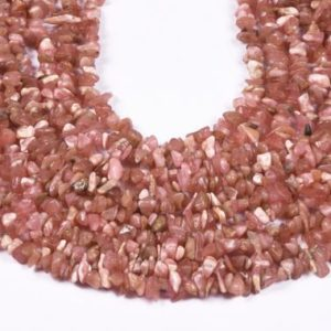 Shop Rhodochrosite Chip & Nugget Beads! Rhodochrosite Uncut Chips Beads, 88 CM long String, Jewellery Making, Polish Uncut Beads, Natural Rhodochrosite Uncut Beads | Natural genuine chip Rhodochrosite beads for beading and jewelry making.  #jewelry #beads #beadedjewelry #diyjewelry #jewelrymaking #beadstore #beading #affiliate #ad