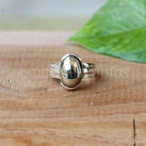 Shop Pyrite Rings! Ring, 925 Solid Sterling Silver, Natural Pyrite Ring, Statement ring, pretty chick jewelry | Natural genuine Pyrite rings, simple unique handcrafted gemstone rings. #rings #jewelry #shopping #gift #handmade #fashion #style #affiliate #ad