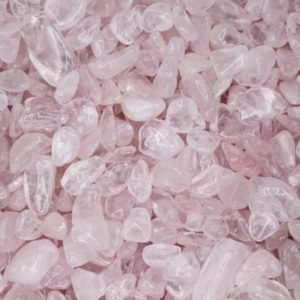 Shop Rose Quartz Stones & Crystals! Rose Quartz Tumbled Crystal Chips, Choose Amount | Natural genuine stones & crystals in various shapes & sizes. Buy raw cut, tumbled, or polished gemstones for making jewelry or crystal healing energy vibration raising reiki stones. #crystals #gemstones #crystalhealing #crystalsandgemstones #energyhealing #affiliate #ad