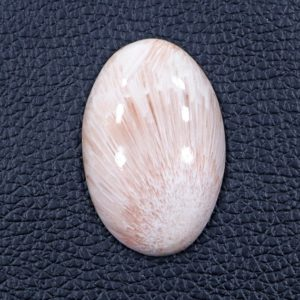 Shop Scolecite Cabochons! Super Fine Oval Shape Scolecite Gemstone 26*40 MM Beautiful Scolecite 46 Cts Semi Precious Ornamental Gemstone Scolecite Flat Back Cabochon   Natural genuine stones & crystals in various shapes & sizes. Buy raw cut, tumbled, or polished gemstones for making jewelry or crystal healing energy vibration raising reiki stones. #crystals #gemstones #crystalhealing #crystalsandgemstones #energyhealing #affiliate #ad
