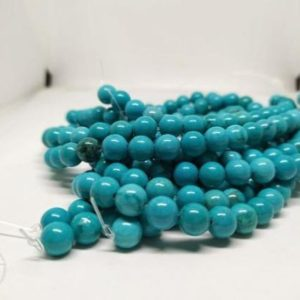 Sleeping Beauty Turquoise Beads, Natural Gemstone, Gemstone Jewelry, AAA Beads, AAA Quality Gemstone, Good Quality, Can Be Personalized | Natural genuine beads Array beads for beading and jewelry making.  #jewelry #beads #beadedjewelry #diyjewelry #jewelrymaking #beadstore #beading #affiliate #ad