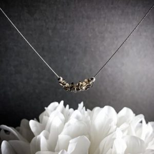 Shop Smoky Quartz Necklaces! Smoky Quartz Protection Necklace Anxiety Relief Minimalist Healing Crystals | Natural genuine Smoky Quartz necklaces. Buy crystal jewelry, handmade handcrafted artisan jewelry for women.  Unique handmade gift ideas. #jewelry #beadednecklaces #beadedjewelry #gift #shopping #handmadejewelry #fashion #style #product #necklaces #affiliate #ad