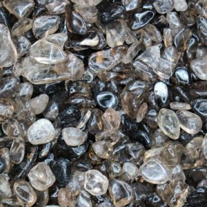 Shop Smoky Quartz Stones & Crystals! Smoky Quartz Tumbled Crystal Chips, Choose Amount | Natural genuine stones & crystals in various shapes & sizes. Buy raw cut, tumbled, or polished gemstones for making jewelry or crystal healing energy vibration raising reiki stones. #crystals #gemstones #crystalhealing #crystalsandgemstones #energyhealing #affiliate #ad