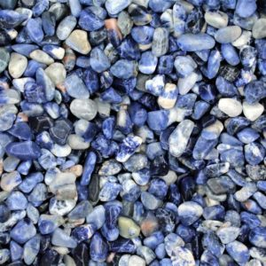 Shop Sodalite Stones & Crystals! Sodalite Tumbled Crystal Chips, Choose Amount | Natural genuine stones & crystals in various shapes & sizes. Buy raw cut, tumbled, or polished gemstones for making jewelry or crystal healing energy vibration raising reiki stones. #crystals #gemstones #crystalhealing #crystalsandgemstones #energyhealing #affiliate #ad
