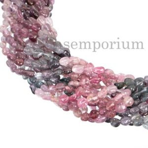 Shop Spinel Chip & Nugget Beads! Rare Burma Multi Spinel Smooth Tumble Beads, Burma Spinel Beads, Burma Multi Spinel Tumble Bead, Burma Multi Spinel Plain Beads, Spinel Bead | Natural genuine chip Spinel beads for beading and jewelry making.  #jewelry #beads #beadedjewelry #diyjewelry #jewelrymaking #beadstore #beading #affiliate #ad