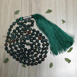 Shop Bloodstone Necklaces! Strong Heart Mala 8MM, Bloodstone Necklace, 108 Mala Beads, Bloodstone Necklace, Bohemian Necklace, Knotted Mala, Handmade Necklace | Natural genuine Bloodstone necklaces. Buy crystal jewelry, handmade handcrafted artisan jewelry for women.  Unique handmade gift ideas. #jewelry #beadednecklaces #beadedjewelry #gift #shopping #handmadejewelry #fashion #style #product #necklaces #affiliate #ad