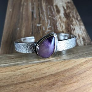 Shop Sugilite Bracelets! Sugilite Cuff | Handmade in MA | Sterling Silver and 14K Gold Bracelet | Sugilite Jewelry | Sugilite Bracelet | Mixed Metal Bracelet | Natural genuine Sugilite bracelets. Buy crystal jewelry, handmade handcrafted artisan jewelry for women.  Unique handmade gift ideas. #jewelry #beadedbracelets #beadedjewelry #gift #shopping #handmadejewelry #fashion #style #product #bracelets #affiliate #ad