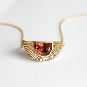 Sun Necklace, 14k Gold Sunstone Necklace, 18k Simple Necklace, Anniversary Gift, Mom Gift, Gift For Her, Oregon Sunstone Gemstone, Minimalvs | Natural genuine Sunstone necklaces. Buy crystal jewelry, handmade handcrafted artisan jewelry for women.  Unique handmade gift ideas. #jewelry #beadednecklaces #beadedjewelry #gift #shopping #handmadejewelry #fashion #style #product #necklaces #affiliate #ad